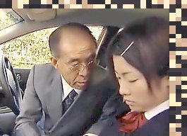 japanese old man cumshot